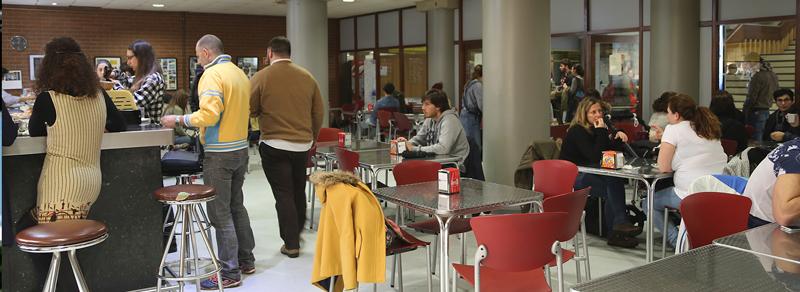 Cafetería e comedor