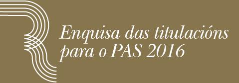 Enquisa de avaliación da satisfacción das titulacións oficiais 2015/16